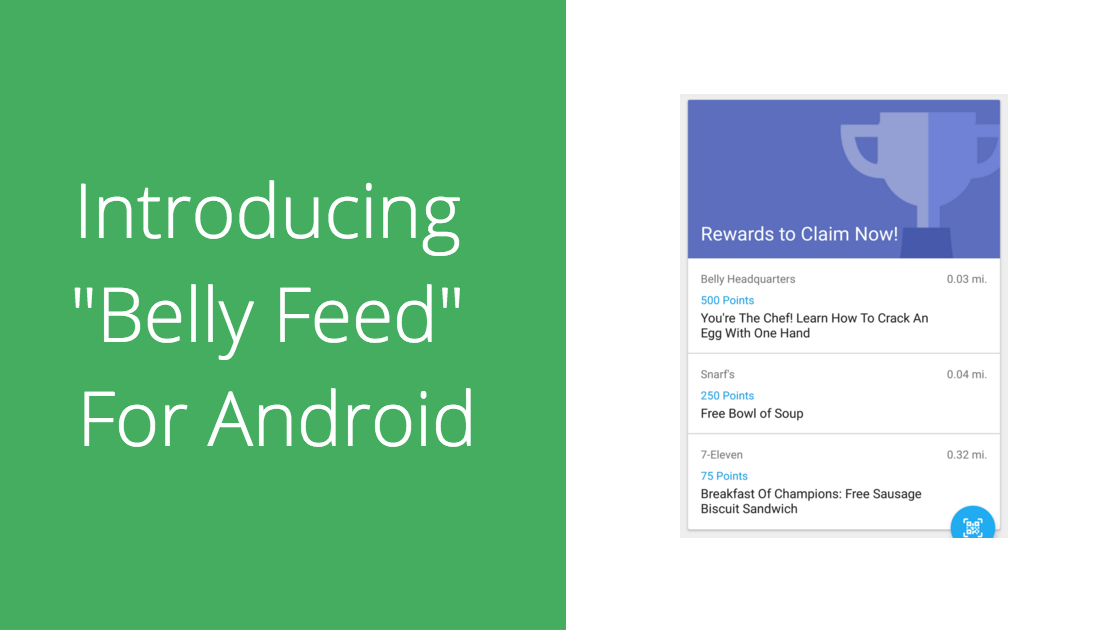 Belly feed for android