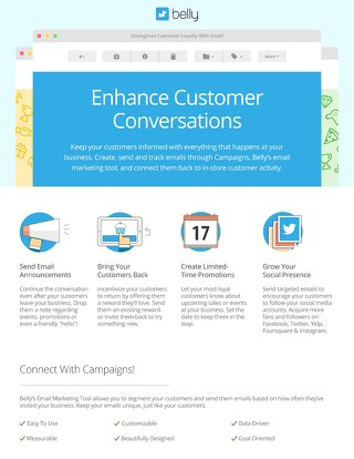Campaigns – customer communication